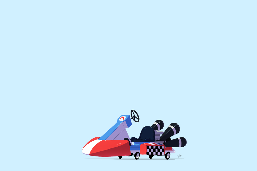 Mario's Go-Kart – Mario Kart
