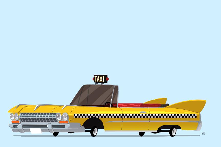 Axel's Taxi – Crazy Taxi