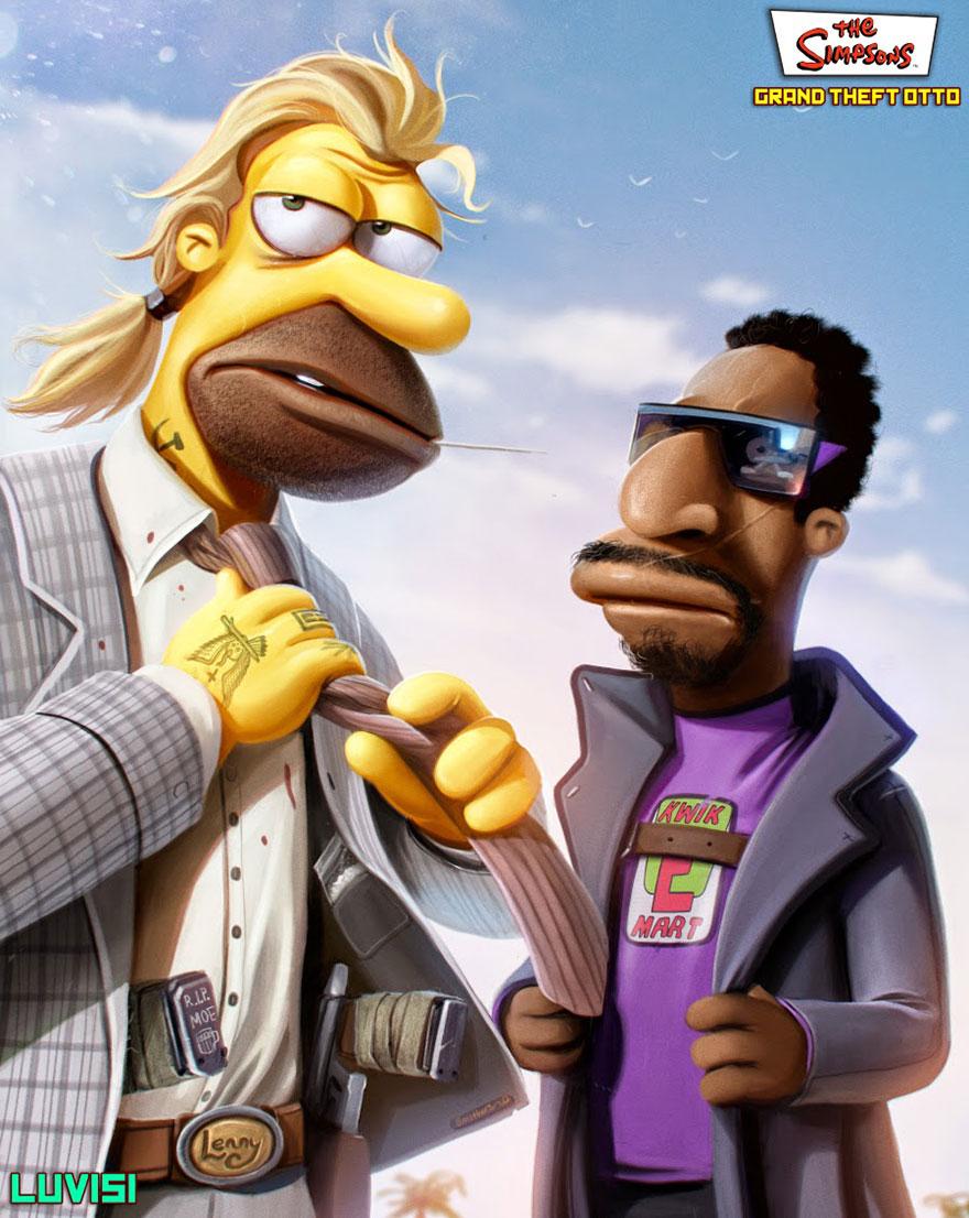 Dan Luvisi - The Simpsons
