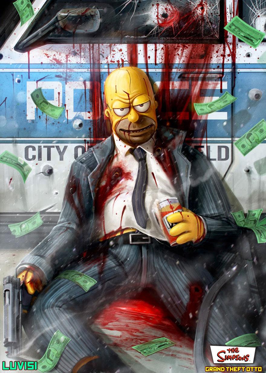 Dan Luvisi - Homer Simpson